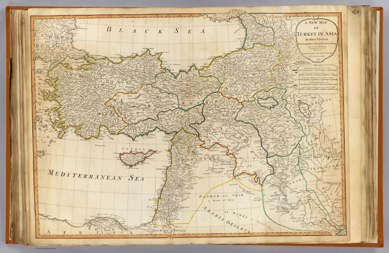 Ancient Turkey Map Anatolia Map Historical Biblical Anatolia Map