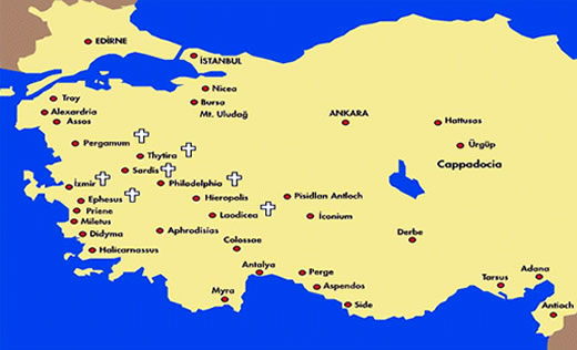 biblical sites in turkey biblical tour guide biblical tours