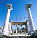 Biblical Sites in Turkey - ephesus - Basilica of St. Jean